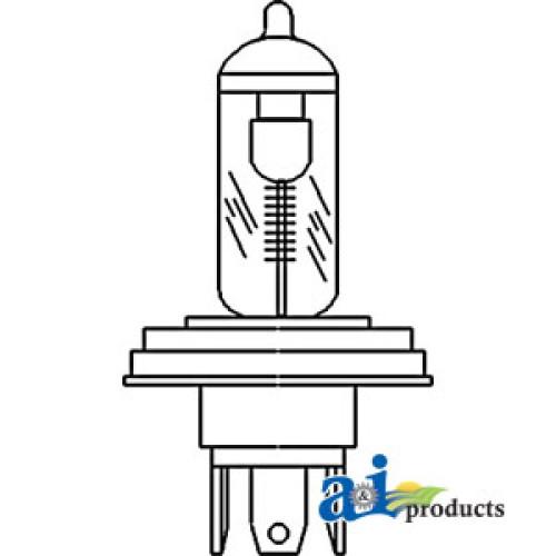 Massey Ferguson Bulb Headlight Part No A-3405186M1