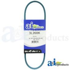 """Image of Murray 0-1000 Tiller Kevlar Blue V-Belt (3/8"""" X 26"""" )"""
