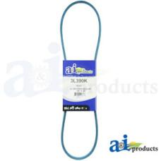 """Image of Murray 0-13020 Tiller Kevlar Blue V-Belt (3/8"""" X 39"""" )"""
