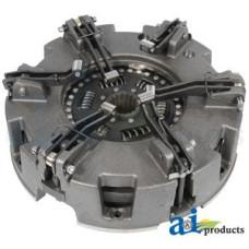 "Ford | New Holland 7530 Tractor Pressure Plate: 12"", 6 lever, metallic, rigid, cast iron, indep PTO, w/ 5144740 trans disc (w/captive metallic rigid disc)"