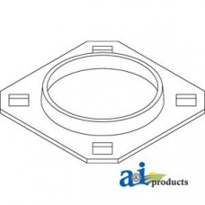 Image of New Idea 7233 Square Baler Bearing, Flange
