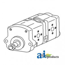 Image of Renault 1181-4S Tractor Hydraulic Pump Assembly