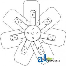 Ford | New Holland 575D Industrial/Construction Fan, 7 Blade (9/1993>)