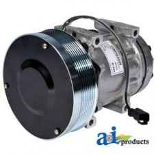 Ford | New Holland T9040 Tractor Compressor, A/C w/ Clutch