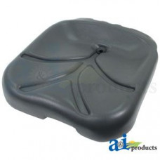 Ford | New Holland LS150 Skid Steer Loader Seat, Bottom Cushion, Gray Vinyl