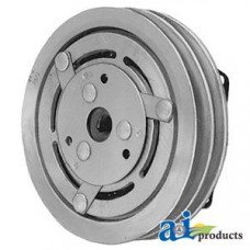 "Ford | New Holland 1069 Bale Wagon Clutch - York/Tecumseh Style ( 2 groove 7"" pulley)"