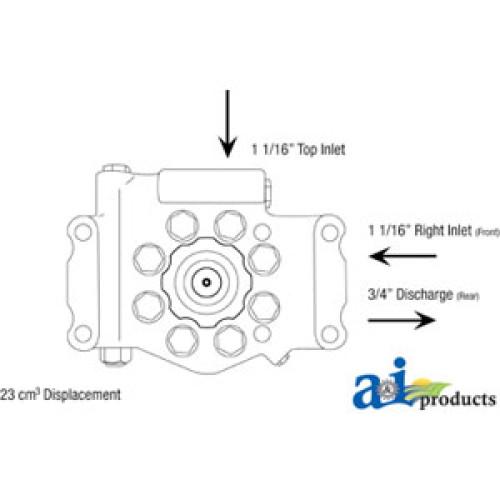 AR103033 R(L) 500x500 john deere 2020 tractor re mfg hydraulic pump (23cm3) (keyed