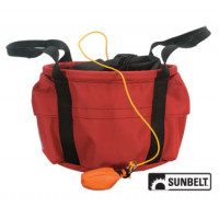 """Image of Bags SEVERAL (Undefined) THROWLINE BAG-BUCKET BAG-12""""X8""""-RED"""