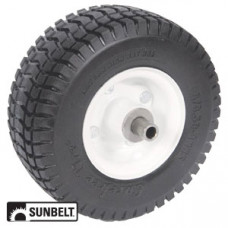 Sulky/Velke SEVERAL Sulky WHEEL-TURF, 9X3.5X4, SOLID, WHITE