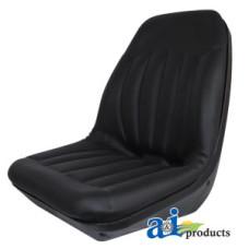 Image of Melroe VARIOUS MODELS (Undefined) High Back, Molded Dishpan Seat, BLK