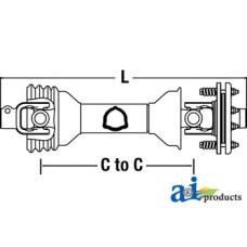 Image of Alamo A60B Rotary Cutter Economy PTO
