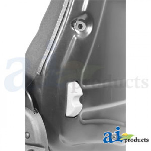 Simplicity ZT2746 Riding Mower Seat, F20 Series, Slide Track / Arm Rest /  Head Rest / Black Cloth