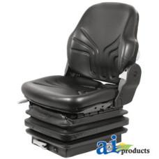 Ford | New Holland T7070 Tractor Seat, Mechanical Suspension; L/ Armrests, BLK VINYL