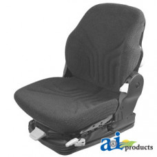 Ford | New Holland T7070 Tractor Grammer Seat Assembly, CHARCOAL MATRIX CLOTH