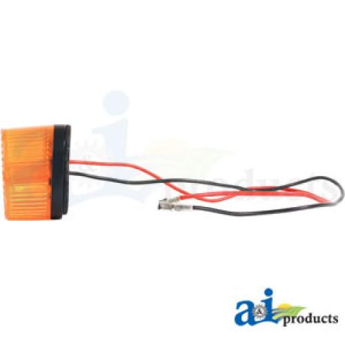 John Deere 2440 Tractor Lamp Flasher Turn Signal Amber – John Deere 2440 Tractor Wiring