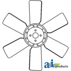 Ford   New Holland 3415 Compact Tractor Fan, 6 Blade