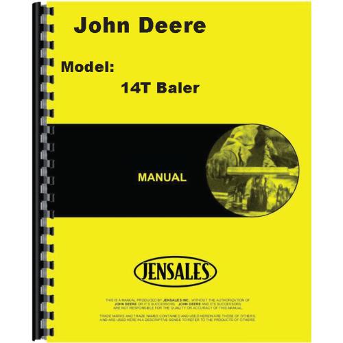 John Deere 14t Service Manual. John Deere 14t Baler Operators Manual Rh Jensales Lettering Parts. John Deere. John Deere 14t Baler Pto Shaft Diagram At Scoala.co