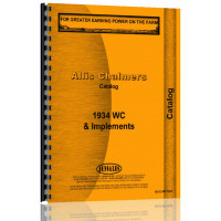Image of Allis Chalmers Miscellaneous Tractor Catalog (WC 1934)
