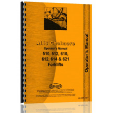 Allis Chalmers 610 Forklift Operators Manual