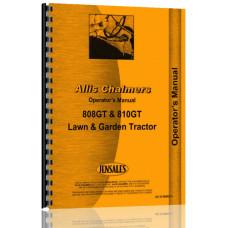 Allis Chalmers 808 Lawn & Garden Tractor Operators Manual