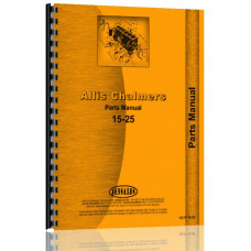 Allis Chalmers 15-25 Tractor Parts Manual