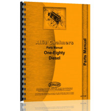 Allis Chalmers 180 Tractor Parts Manual (SN# 1001-6643)