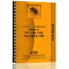 Allis Chalmers 712H Lawn & Garden Tractor Parts Manual
