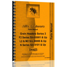 Allis Chalmers M2 Head Parts Manual (SN# 48000 and up)