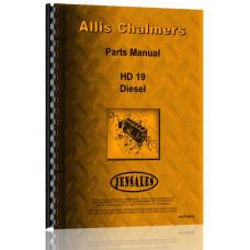 Allis Chalmers HD19 Crawler Parts Manual