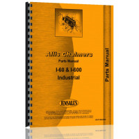 Allis Chalmers I-600 Industrial Tractor Parts Manual