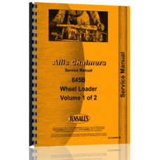 Allis Chalmers 645B Wheel Loader Service Manual