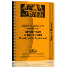 Allis Chalmers 25000 Engine Service Manual