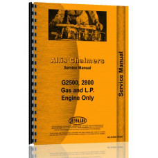 Allis Chalmers 180 Engine Service Manual (SN# 6644-12985)