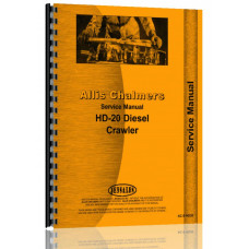 Allis Chalmers HD20 Crawler Service Manual