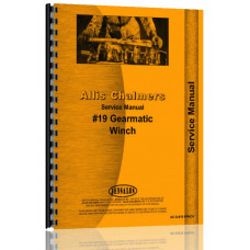 Allis Chalmers 19 Winch Service Manual