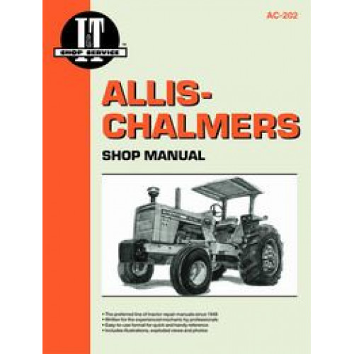 Allis Chalmers 185 Tractor Service Manual  It Shop