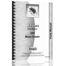 Image of Adams 220 Grader Parts Manual