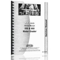 Adams 550 Grader Service Manual