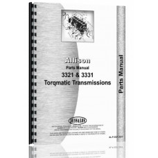 Allison 3321 Power Tran Parts Manual
