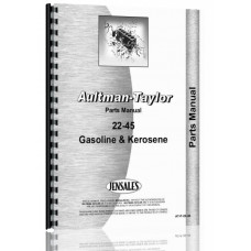 Image of Aultman and Taylor 22-45 Tractor Parts Manual