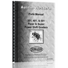 Austin Western Pacer 401 Grader Parts Manual