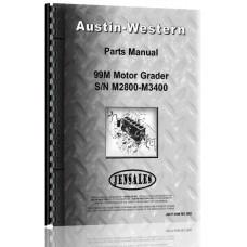 Austin Western 99M Grader Parts Manual (SN# M3400-M4498) (M3400-M4498)