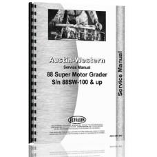 Image of Austin Western Super 88 Grader Service Manual