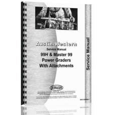 Image of Austin Western 99 Grader Service Manual