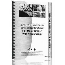 Austin Western 88H Grader Service & Operators Manual (SN# H88152 and Up)