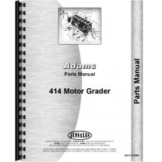 Image of Adams 414 Grader Parts Manual
