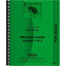 Image of Adams 440 Grader Parts Manual