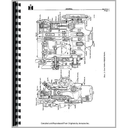 [SCHEMATICS_4CA]  International Harvester TD9 Crawler Engine Service Manual   Mccormick Td6 Wiring Diagram      Jensales