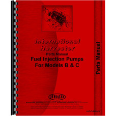 International Harvester C Injection Pump Parts Manual