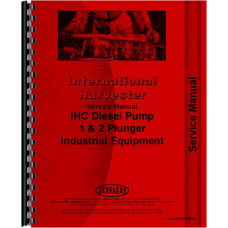 Adams 412H Injection Pump Service Manual (SN# 1474 and Up)